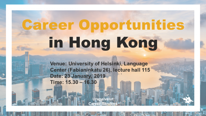 Career Opportunities in Hong Kong