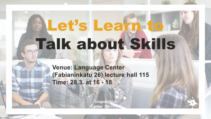 Let's Learn to Talk about Skills